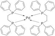 Bis[1,2-bis(diphenylphosphino)ethane]palladium (0)